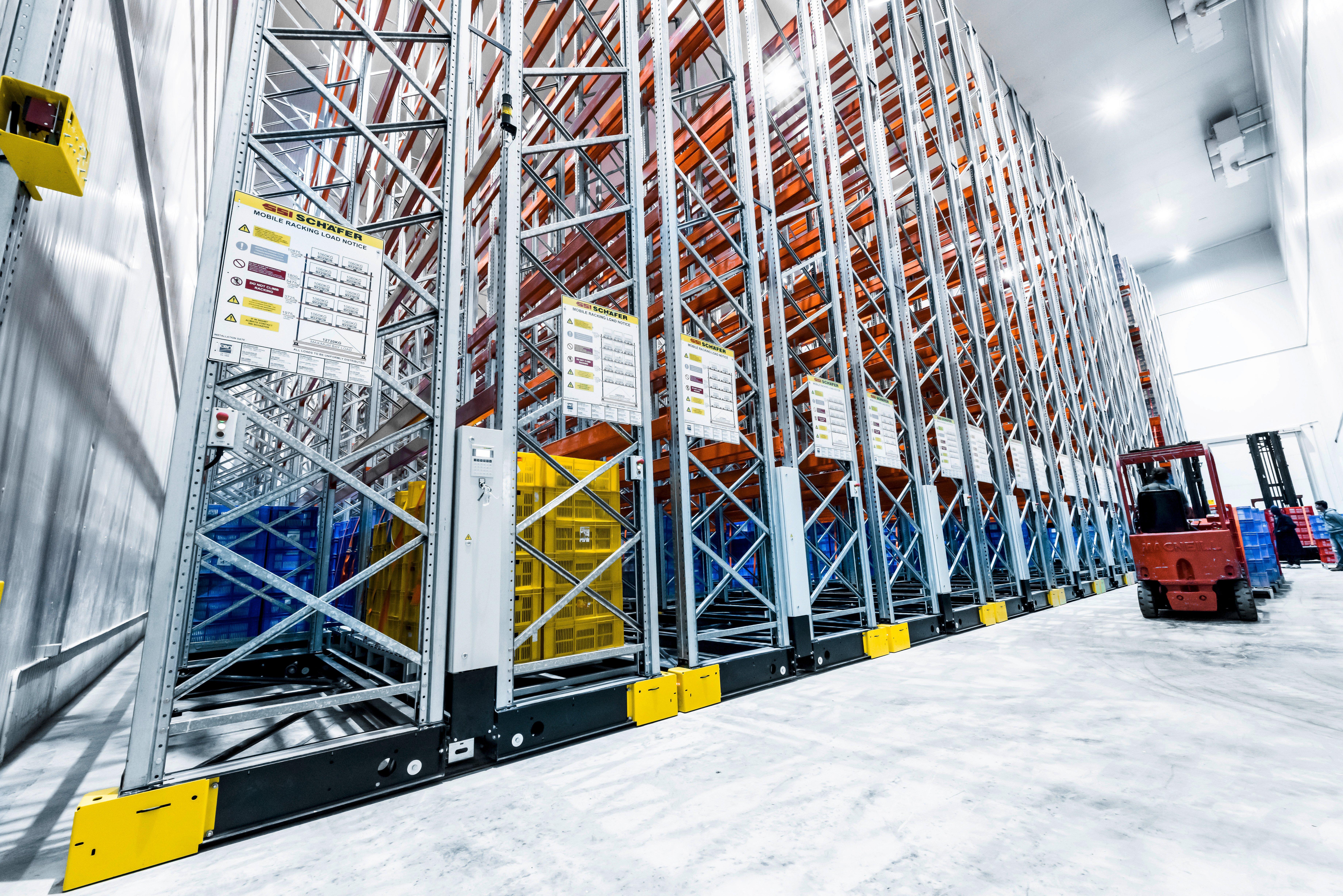 Schaeffer mobile rack (cold store) - non Twintec floor
