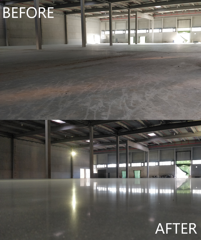 TwintecPLUS - Automotive parts storage facility - France, Strasbourg - BEFORE AFTER